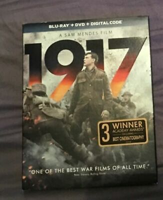 1917 BLU-RAY + DVD + DIGITAL Brand New & Sealed w/ Slipcover USA FREE SHIPPING