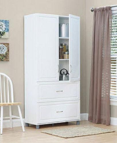Pantry Storage Cabinet Ebay