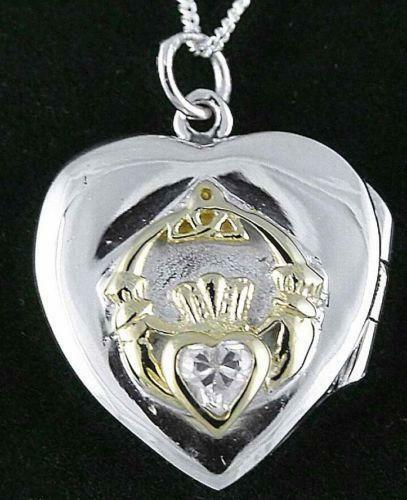 Claddagh Locket Jewelry Amp Watches Ebay