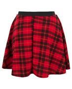 Elasticated Waist Short Skirt