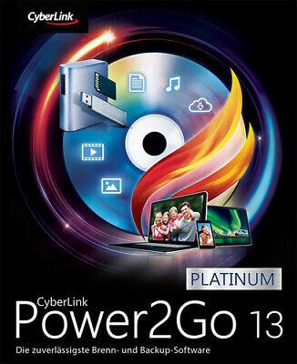 Cyberlink Power2Go 13 Platinum, Download, Windows