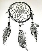 Dream Catcher Decal