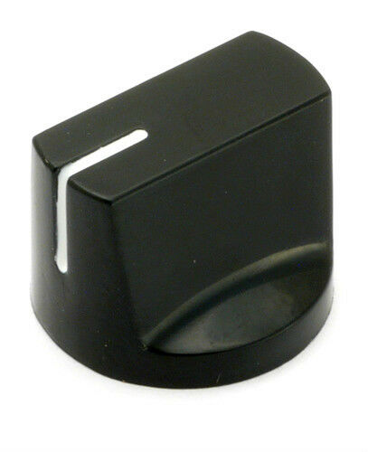 Davies 1510 Clone Black Knob (2 PCS) High Quality! USA Seller!!!