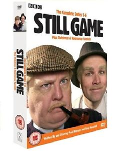 ❏ Still Game Complete Series 1 - 6 DVD Box Set + Christmas / Hogmanay Specials ❏
