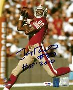 Jerry Rice Autographed 8x10