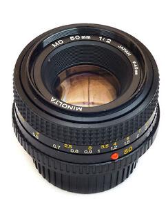Objectifs Minolta MD 50mm f/2