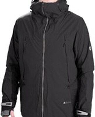 686 Smarty Jacke (686 Gletscher Smarty Serac 2.5 Schicht Snowboardjacke (L) Schwarz)