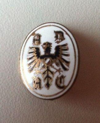 ADAC Logo Brosche emailliert kleine Form (selten) 16x20mm 1920er Jahre [590]