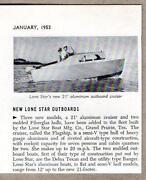 Vintage Aluminum Boat