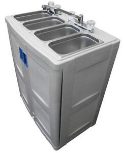 Portable 3 Compartment Sink