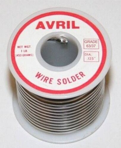 1 lb Avril 63/37 Stained Glass Solder + LOW SHIPPING!