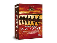 CONCISE HISTORY OF WORLD WAR 1 & 2 - THREE DVD BOX SET.