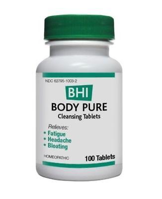 MediNatura BHI Body Pure 100 Tablets Body Pure 100 Tablets