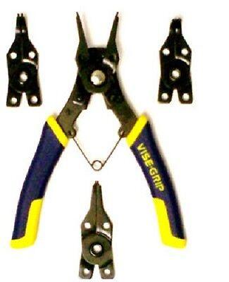 Irwin Vise-Grip, 4 Piece, Convertible Snap Ring Pliers 4 Piece Vise Grip Plier
