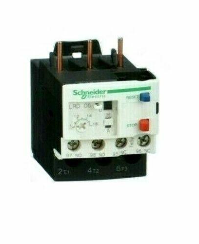 SCHNEIDER ELECTRIC LRDO6 OVERLOAD RELAY --- TeSys - 034676