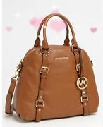 Michael Kors Leather Large Handbag Brown