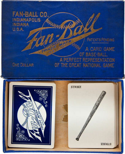 1909 Fan Ball Playing Card, Etc. Game!!