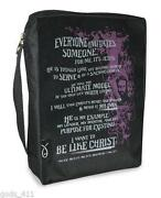 Bible Cover Zipper