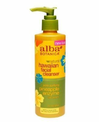 ``Alba Botanica Hawaiian Facial Cleanser, Pineapple Enzyme 8 - Pineapple Enzyme Facial Cleanser