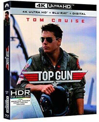 Top Gun [new 4k Uhd Blu-ray] With Blu-ray, 4k Mastering, Ac-3/dolby Di
