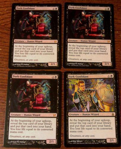 Dark Confidant 4: Individual Cards | eBay Dark Confidant Modern Masters