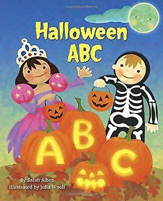 Halloween Abc Golden Book (Halloween ABC (Little Golden Board Book) by Sarah Albee)