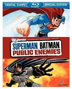 Superman Batman Public Enemies Blu Ray