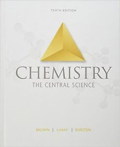 CHEMISTRY THE CENTRAL SCIENCE (TENTH EDITION) (HARDCOVER)