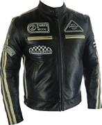 Mens Leather Jacket 50