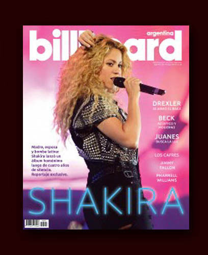 SHAKIRA - Billboard Argentina Magazine # 9 April  2014