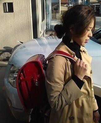Very cute!NEW Japanese Randoseru Red Backpack School Bag!