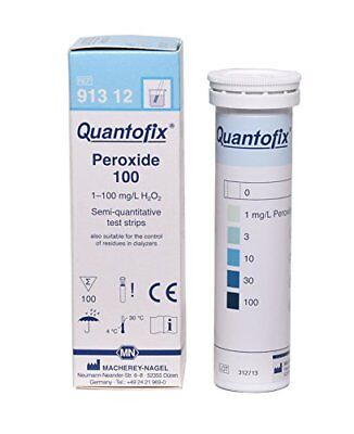 Quantofix 1138902 Peroxide Test Stick, CE-Marked, 6 mm x 95 mm (Pack of 100)