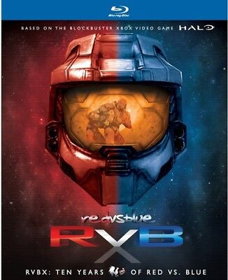 RVBX: Ten Years of Red Vs Blue [New Blu-ray] Boxed