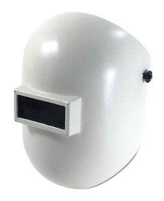 Fibre-metal 110wh White Pipeliner Superglas Welding Helmet With Ratchet Headgear