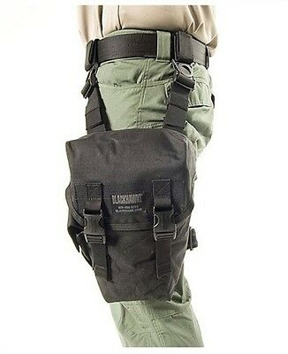 New  Blackhawk Ultralight 500D Ripstop Omega Gas Mask Pouch   Black   56Gm03bk
