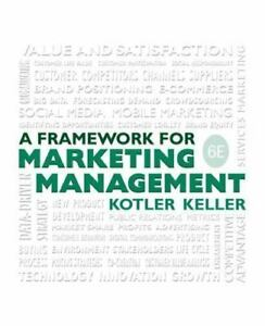 A Framework for Marketing Management 6th Int'l Edition