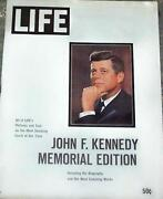 Life Magazine John F Kennedy Memorial Edition