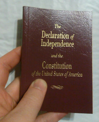 Pocket Size United States Declaration Of Independence & Constitution Of The USA
