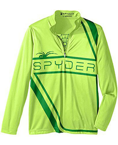 Spyder Boys Bugcentric Dry WEB T-Neck Top Thermal T-Shirt Size XXS (3/4 Kids)NWT