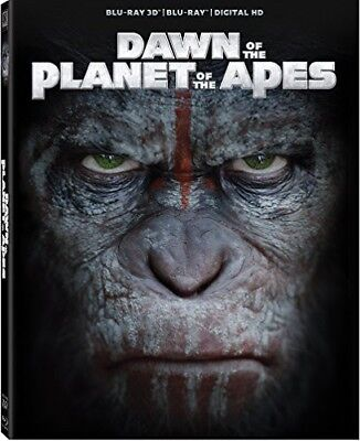 Dawn of the Planet of the Apes [New Blu-ray 3D] 3D, Digitally Mastered In (Dawn In The Planet Of The Apes)