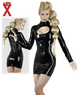 LATE X Latex Minikleid schwarz S | M | L | XL Damen Party- & Minikleid - Latex Damen Mini