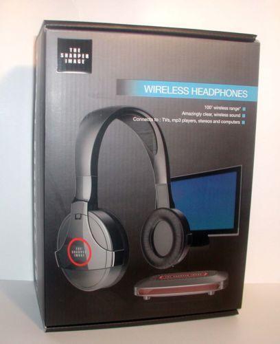 Sharper Image Bluetooth Wireless Earbuds: Sharper Image Wireless Headphones