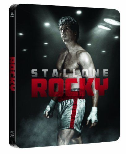 Rocky - U.K Limited Edition Steelbook Blu-ray Remastered. New & Sealed. MINT