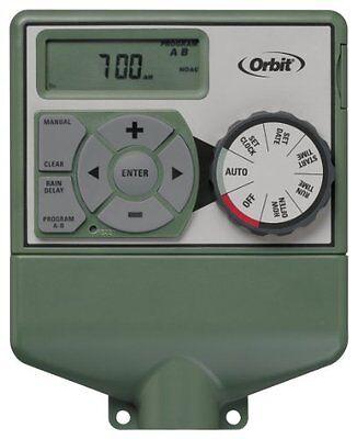 (Orbit Sprinkler System 4-Station Standard Indoor Mounted Control Timer #57114)