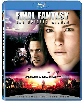 Final Fantasy: The Spirits Within [New Blu-ray] Ac-3/Dolby Digital, Dolby, Dub