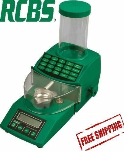 NEW RCBS CHARGEMASTER 1500 COMBO POWDER SCALE DISPENSER 98923 110 / 115 VOLT
