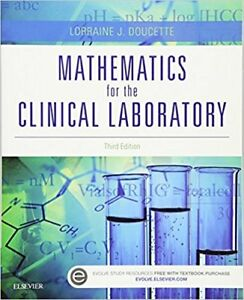 Mathematics for the Clinical Laboratory Paperback