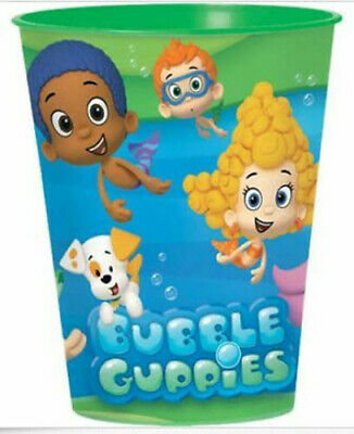 BUBBLE GUPPIES plastic Favor CUP Birthday Party Tableware Supplies 16oz reusable](Bubble Guppies Birthday)