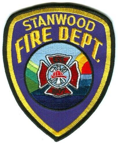 Stanwood Fire Department Patch Washington WA