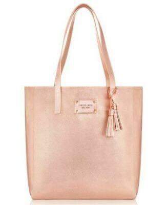 MICHAEL KORS Rose Gold Pink Tote Handbag Weekender Bag BRAND NEW!